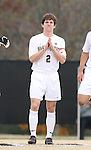 02 December 2007: Wake Forest's Sam Cronin. The Wake Forest University Demon Deacons defeated the West Virginia University Mountaineers 3-1 at W. Dennie Spry Soccer Stadium in Winston-Salem, North Carolina in a Third Round NCAA Division I Mens Soccer Tournament game.
