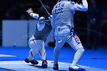 Sumire Tsuji (JPN), <br /> AUGUST 23, 2018 - Fencing : Women's Team Foil Seni-final at Jakarta Convention Center Cendrawasih during the 2018 Jakarta Palembang Asian Games in Jakarta, Indonesia. <br /> (Photo by MATSUO.K/AFLO SPORT)
