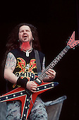 Pantera - Dimebag Darrell Abbott - performing live at the Ozzfest, Milton Keynes, UK - 20 Jun 1998.  Photo credit: George Chin/IconicPix