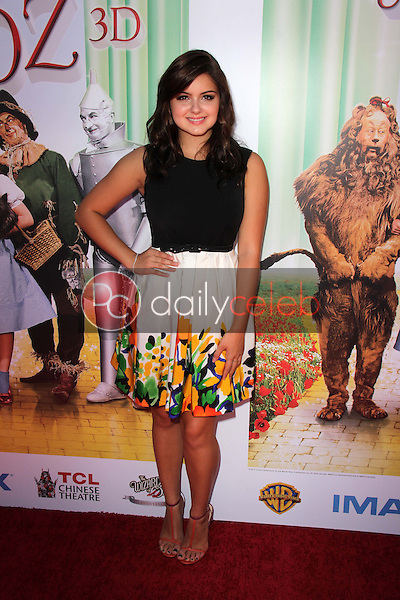 """Ariel Winter<br /> at """"The Wizard Of Oz 3D"""" World Premiere Screening and Grand Opening of the TCL Chinese IMAX Theater, Chinese Theater, Hollywood, CA 09-15-13<br /> David Edwards/DailyCeleb.com 818-249-4998"""