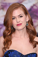 Isla Fisher at the premiere of &quot;Alice Through the Looking Glass&quot; at the Odeon Leicester Square, London.<br /> May 10, 2016  London, UK<br /> Picture: Steve Vas / Featureflash