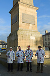 Ripon Sword Dance Play. Ripon, Yorkshire, UK Performed on Boxing Day December 26th 2008.