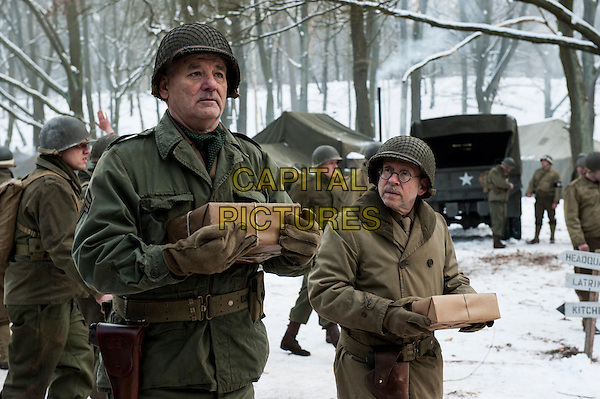 Bill Murray, Bob Balaban<br /> in The Monuments Men (2014) <br /> *Filmstill - Editorial Use Only*<br /> CAP/FB<br /> Image supplied by Capital Pictures