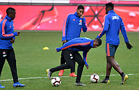 SEUL - COREA DEL SUR, 25-03-2019:  Selección Colombia durante entrenamiento en la cancha del estadio olímpico de Seul previo al encuentro del martes próximo, 26 de marzo de 2019, con la selección nacional de Corea del Sur. / Colombian team during training session at Seoul Olympic Stadium prior the match against Soth Korea National soccer team tomorrow, March 26, 2019, in Seul South Korea. Photo: VizzorImage / Julian Medina / Cont FCF