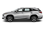 Car driver side profile view of a 2017 Lexus RX 350 L 5 Door SUV