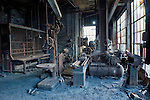 The Machine Shop at the Mahanoy City Coal Breaker in Pennsylvania