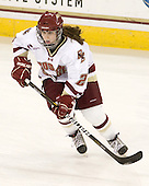 Kristina Brown (BC - 2) - The Boston College Eagles defeated the visiting Harvard University Crimson 6-2 on Sunday, December 5, 2010, at Conte Forum in Chestnut Hill, Massachusetts.