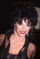 Joan Collins 1989<br /> Photo By John Barrett/PHOTOlink.net