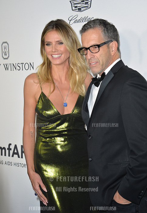 LOS ANGELES, CA. October 27, 2016: Heidi Klum &amp; Kenneth Cole at the 2016 amfAR Inspiration Gala at Milk Studios, Los Angeles.<br /> Picture: Paul Smith/Featureflash/SilverHub 0208 004 5359/ 07711 972644 Editors@silverhubmedia.com