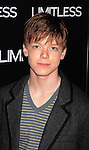 """HOLLYWOOD, CA - MARCH 03: Cameron Monaghan attends the Los Angeles special screening of """"Limitless"""" at ArcLight Cinemas Cinerama Dome on March 3, 2011 in Hollywood, California."""