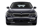 Car photography straight front view of a 2018 BMW 6 Series Gran Turismo Luxury 5 Door Hatchback