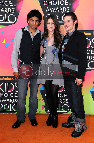 M. Night Shyamalan, Nicola Peltz, Jackson Rathbone<br /> at the Nickelodeon's 23rd Annual Kids' Choice Awards, UCLA's Pauley Pavilion, Westwood, CA 03-27-10<br /> David Edwards/DailyCeleb.com 818-249-4998