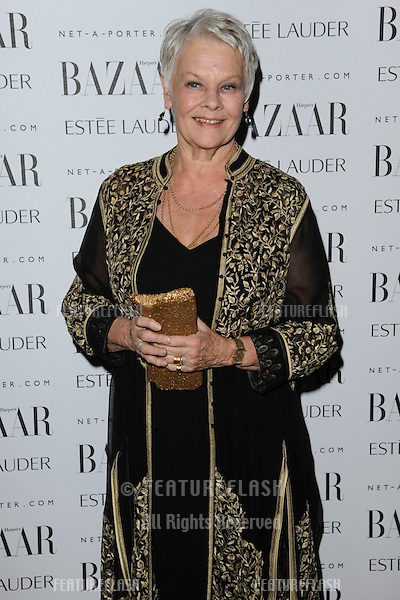 Dame Judi Dench arriving for the Harpers Bazaar Women of the Year Awards 2011 at Claridges, London. 07/11/2011 Picture by: Steve Vas / Featureflash