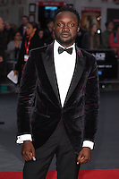 "Arnold Oceng<br /> at the London Film Festival premiere for ""A United Kingdom"" at the Odeon Leicester Square, London.<br /> <br /> <br /> ©Ash Knotek  D3160  05/10/2016"