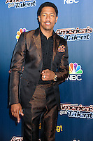 NEW YORK CITY, NY, USA - JULY 29: Nick Cannon arrives at the 'America's Got Talent' Season 9 Pre Show Red Carpet Event held at Radio City Music Hall on July 29, 2014 in New York City, New York, United States. (Photo by Celebrity Monitor)