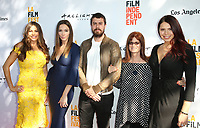 "17 June 2017 - Culver City, California - Sofia Vergara, Whitney Cummings, Toby Kebbell, Louann Brizendine, Erika Olde. ""The Female Brain"" Premiere during the 2017 Los Angeles Film Festival. Photo Credit: F. Sadou/AdMedia"