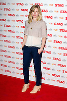 Eva Birtwhistle arriving for The Stag Premiere at Vue Leicester Square, London. 13/003/2014 Picture by: Dave Norton / Featureflash