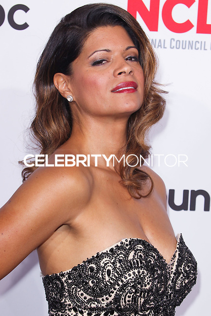 PASADENA, CA, USA - OCTOBER 10: Andrea Navedo arrives at the 2014 NCLR ALMA Awards held at the Pasadena Civic Auditorium on October 10, 2014 in Pasadena, California, United States. (Photo by Celebrity Monitor)