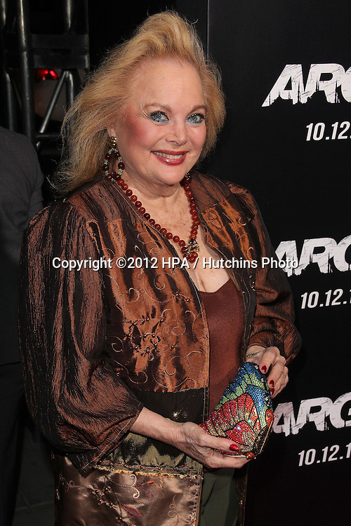 "LOS ANGELES - OCT 4:  Carol Connors arrives at the ""ARGO"" Premiere at Samuel Goldwyn Theater on October 4, 2012 in Beverly Hills, CA"