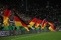 Deutsche Fans feiern den 4:0 Sieg