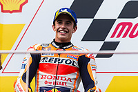 3rd November 2019; Sepang Circuit, Sepang Malaysia; MotoGP Malaysia, Race Day;  The number 93 Repsol Honda Team rider Marc Marquez finishes second in the race - Editorial Use