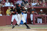 Third baseman Jose Cuas (12) of the Maryland Terrapins in an NCAA Division I Baseball Regional Tournament game against the South Carolina Gamecocks on Sunday, June 1, 2014, at Carolina Stadium in Columbia, South Carolina. Maryland won, 10-1, to win the tournament. (Tom Priddy/Four Seam Images)