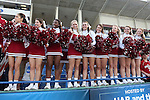 09 December 2012: Indiana cheerleaders during the postgame celebration. The Georgetown University Hoyas played the Indiana University Hoosiers at Regions Park Stadium in Hoover, Alabama in the 2012 NCAA Division I Men's Soccer College Cup Final. Indiana won the game 1-0.