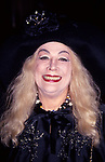 """Sylvia Miles attending the """"Short Cuts"""" opening at the NY Film Festival at  Avery Fisher Music Hall on October 1, 1993 New York City."""