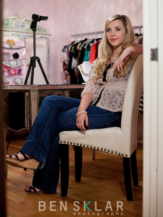 Megan Parken, a 15- year-old video blogger, records and uploads videos about fashion, makeup and hairstyling to YouTube from her home in Austin, Texas. Parken has 250,000 followers on YouTube and quit cheerleading to dedicate more time to her videos...
