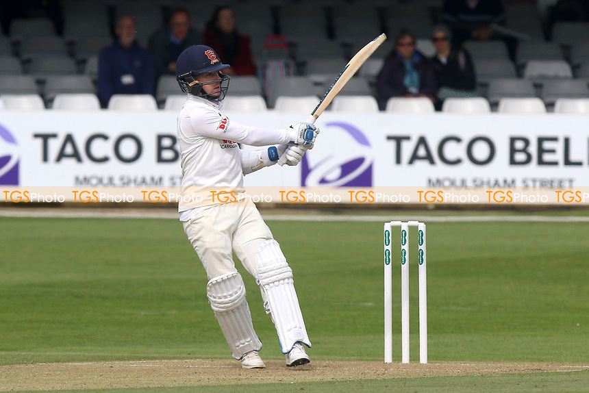 Adam Wheater hits four runs for Essex during Essex CCC vs Durham MCCU, English MCC University Match Cricket at The Cloudfm County Ground on 2nd April 2017