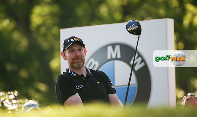 Stephen Gallacher (SCO) during Round One of the 2016 BMW PGA Championship over the West Course at Wentworth, Virginia Water, London. 26/05/2016. Picture: Golffile | David Lloyd. <br /> <br /> All photo usage must display a mandatory copyright credit to &copy; Golffile | David Lloyd.