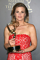 LOS ANGELES - APR 30:  Gina Tognoni, Outstanding Lead Actress in a Drama Series, The Young and The Restless in the 44th Daytime Emmy Awards Press Room at the Pasadena Civic Auditorium on April 30, 2017 in Pasadena, CA