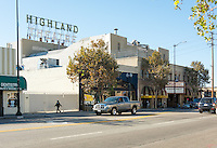 Highland Theater in Highland Park along Figueroa, Oct. 29, 2015.<br />