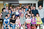 49 Again<br /> ------------<br /> Michael McCarthy, seated centre, from Bantry Co Cork came all the way to the Brogue Inn, Tralee to his friends and family to celebrate his 50th birthday last Saturday night.