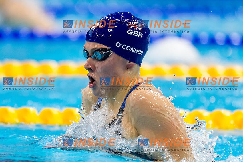 O'CONNOR Siobhan-Marie GBR silver medal<br /> London, Queen Elizabeth II Olympic Park Pool <br /> LEN 2016 European Aquatics Elite Championships <br /> Swimming<br /> Women's 200m medley final  <br /> Day 11 19-05-2016<br /> Photo Giorgio Perottino/Deepbluemedia/Insidefoto