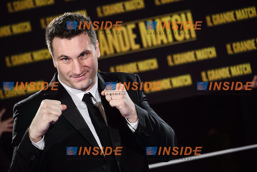 Roberto Cammarelle <br /> Roma 07-01-2014 Cinema The Space Moderno <br /> Grudge Match - Il Grande Match Premiere<br /> Foto Andrea Staccioli / Insidefoto