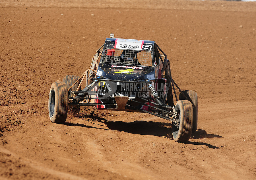 Apr 17, 2011; Surprise, AZ USA; LOORRS driver Mike Porter (8) during round 4 at Speedworld Off Road Park. Mandatory Credit: Mark J. Rebilas-