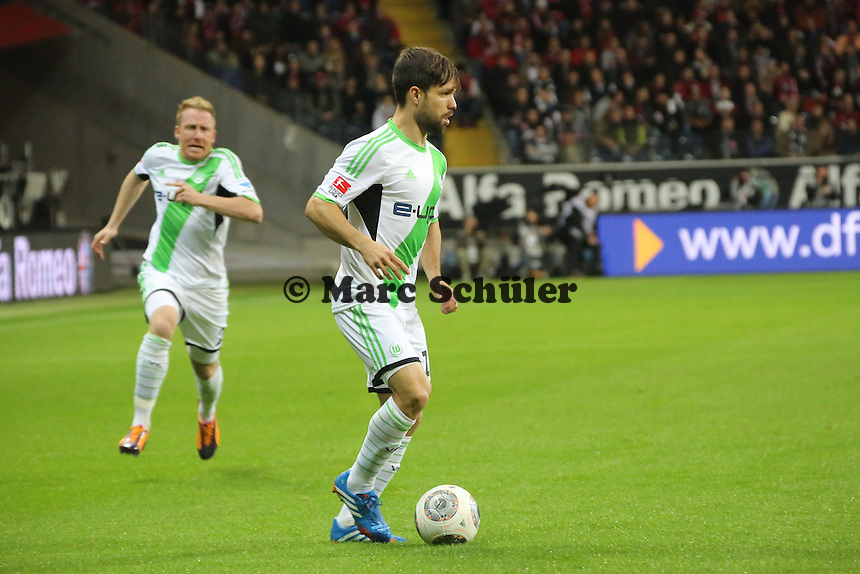 Diego (Wolfsburg) Eintracht Frankfurt vs. VfL Wolfsburg, Commerzbank Arena