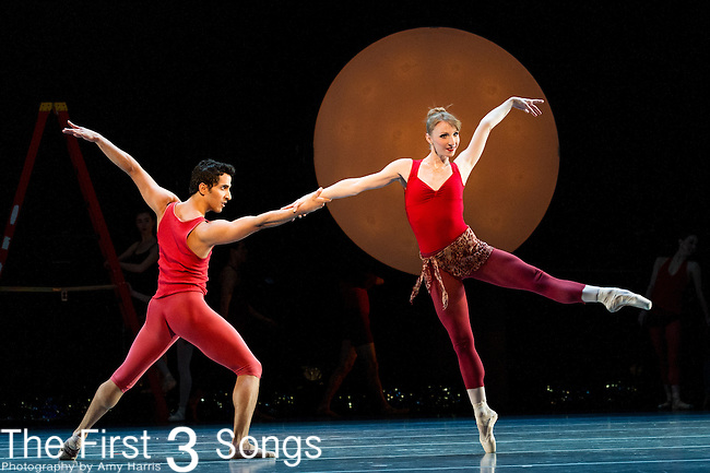 Cincinnati Ballet and BalletMet Columbus present Symphony in C and Bolero at the Aronoff Center for the Arts in Cincinnati, OH