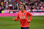 Atletico de Madrid's Antoine Griezmann during La Liga match between Atletico de Madrid and Real Madrid at Wanda Metropolitano Stadium in Madrid, Spain. February 09, 2019. (ALTERPHOTOS/A. Perez Meca)