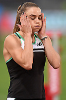 Lisanne De Witte of Netherlands reacts prior to the women's 400m at the IAAF Diamond League Golden Gala <br /> Roma 06-06-2019 Stadio Olimpico, <br /> Meeting Atletica Leggera <br /> Photo Andrea Staccioli / Insidefoto