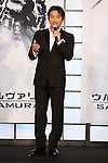 Hiroyuki Sanada, Aug 28, 2013 : Hiroyuki Sanada attends 'The Wolverine' Japan Premiere at the Roppongi Hills on August 28, 2013 in Tokyo, Japan