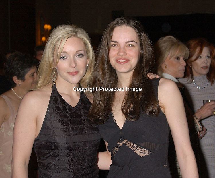 Jane Krakowski &Tammy Blanchard at the 69th Annual Drama League Awards Luncheon on May 9,2003 at the Grand Hyatt in New York...Photo by Robin Platzer, Twin Images