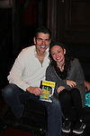 Joe Barbara and Brittany Conigatti star in The Bronx Tale, The Musical  at the Longacre Theatre, New York City, New York. On January 19, 2017  (Photo by Sue Coflin/Max Photos)