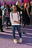 Marsai Martin at the world premiere for &quot;Guardians of the Galaxy Vol. 2&quot; at the Dolby Theatre, Hollywood. <br /> Los Angeles, USA 19 April  2017<br /> Picture: Paul Smith/Featureflash/SilverHub 0208 004 5359 sales@silverhubmedia.com