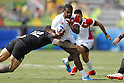 Lote Tuqiri (JPN), <br /> AUGUST 9, 2016 - / Rugby Sevens : <br /> Men's Pool Round <br /> between New Zeland 12-14 Japan <br /> at Deodoro Stadium <br /> during the Rio 2016 Olympic Games in Rio de Janeiro, Brazil. <br /> (Photo by Yusuke Nakanishi/AFLO SPORT)