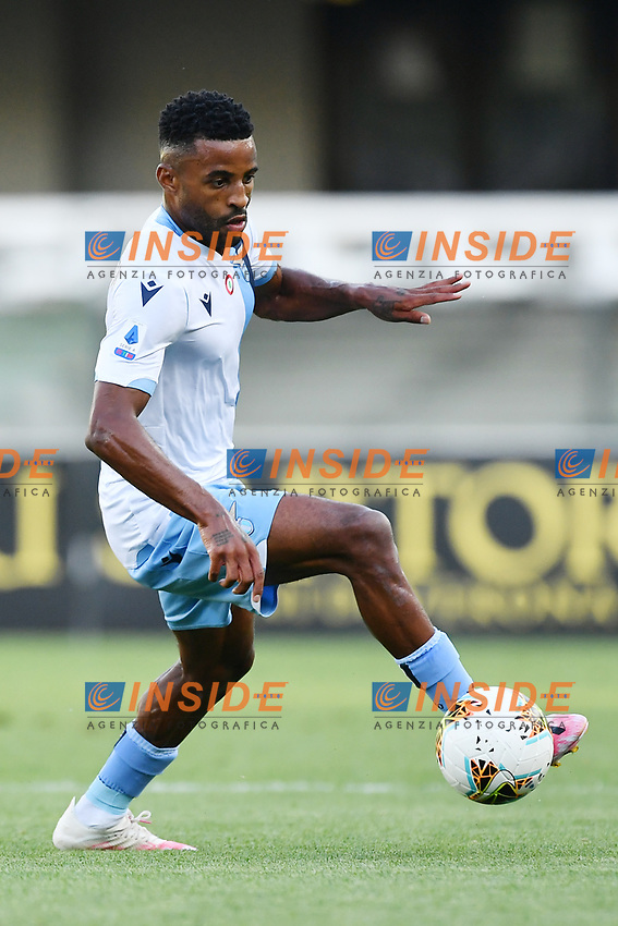 Andre Anderson of SS Lazio during the Serie A football match between Hellas Verona and SS Lazio at stadio Marcantonio Bentegodi in Verona (Italy), July 26th, 2020. Play resumes behind closed doors following the outbreak of the coronavirus disease. <br /> Photo Daniele Buffa / Image Sport / Insidefoto