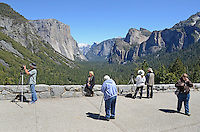 This visitor viewpoint of Yosemite Valley, Yosemite National Park, California, USA, is perenially popular with photographers. 201304181592<br /> <br /> Copyright Image from Victor Patterson, 54 Dorchester Park, Belfast, UK, BT9 6RJ<br /> <br /> Tel: +44 28 9066 1296<br /> Mob: +44 7802 353836<br /> Voicemail +44 20 8816 7153<br /> Skype: victorpattersonbelfast<br /> Email: victorpatterson@me.com<br /> Email: victorpatterson@ireland.com (back-up)<br /> <br /> IMPORTANT: If you wish to use this image or any other of my images please go to www.victorpatterson.com and click on the Terms &amp; Conditions. Then contact me by email or phone with the reference number(s) of the image(s) concerned.