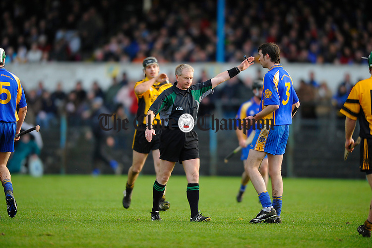 referee Ger Hoey