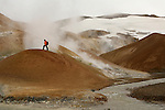 Ballade dans les montagnes des sorcieres. Kerlingarfjoll. Volcanisme acide.